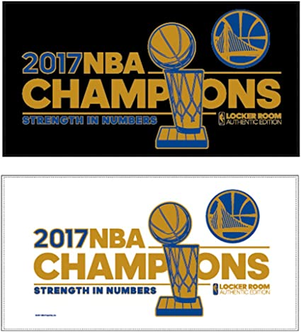 Golden State Warriors 2017 NBA Champions Crew Socks
