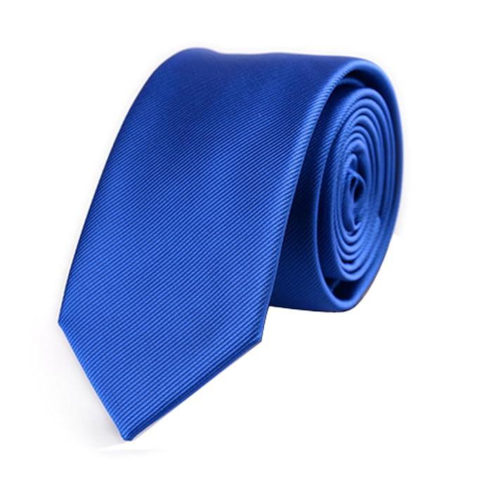 AINOW - Corbata - para hombre azul azul Talla única: Amazon.es ...
