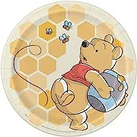 Disney Winnie The Pooh Round Dinner Plates - 8 Pcs