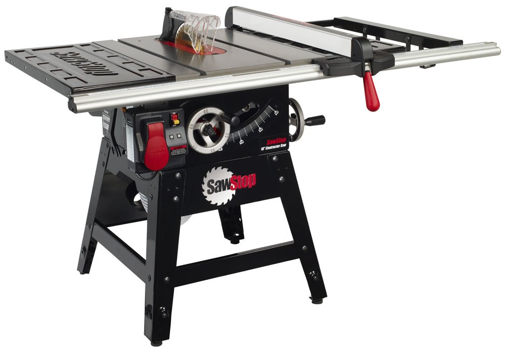SawStop CNS175-SFA30 1.75Hp Contractor Saw 30'' Aluminum Fence System by SawStop