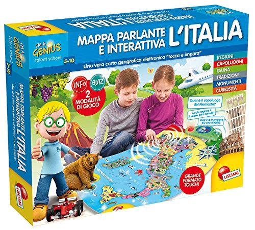 3 opinioni per Lisciani Giochi 56484- I'm a Genius Mappa Elettronica Interattiva Italia