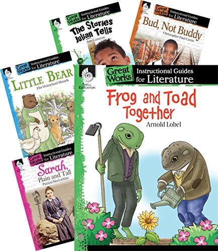 Great Works Instructional Guides for Literature 8- Book Set, Grades K-8
