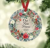 Christmas Ornament - Our New Home 2018 - Farmhouse Style Ornament