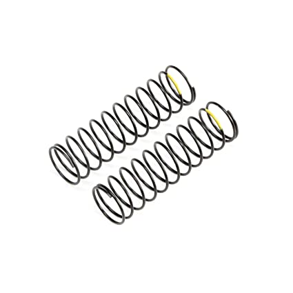 Team Losi Racing TLR233057 Rear Springs Yellow Low Frequency 12mm 2