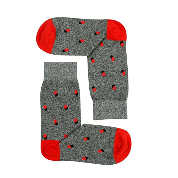 Pirate Hombres y mujeres calcetines calcetines de algodón Dot Retro hombres calcetines calcetines otoño sudor,