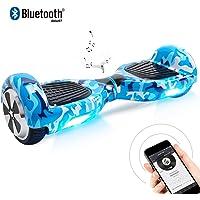 "Windgoo Hoverboard, 6.5"" Elektro Scooter mit 2 * 250W Motor, LED Lights, Self Balance Scooter E-Skateboard"