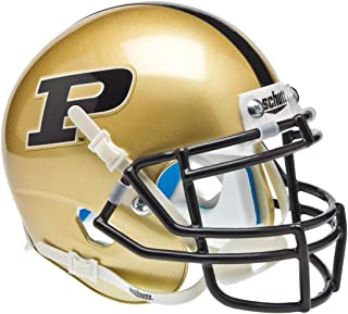 Schutt NCAA Purdue Boilermakers Mini-Helm zum Sammeln