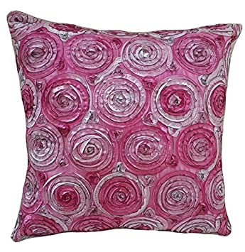 Amazon.com: PAPAYA SHOP Roses Two Tone 3d Bouquet Pillowcase covers ...