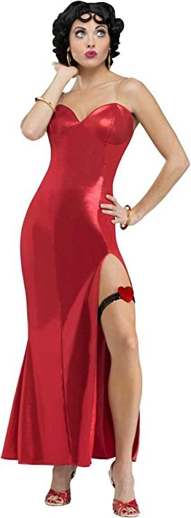 Disfraz de Betty Boop deluxe para mujer: Amazon.es: Ropa y accesorios