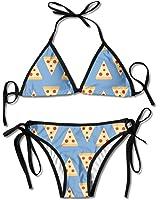 Realistic Pepperoni Pizza Bikini Top at Amazon Women's