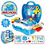 Happy Giftmart Dream the Suitcase Medical Play Set, Multi Color