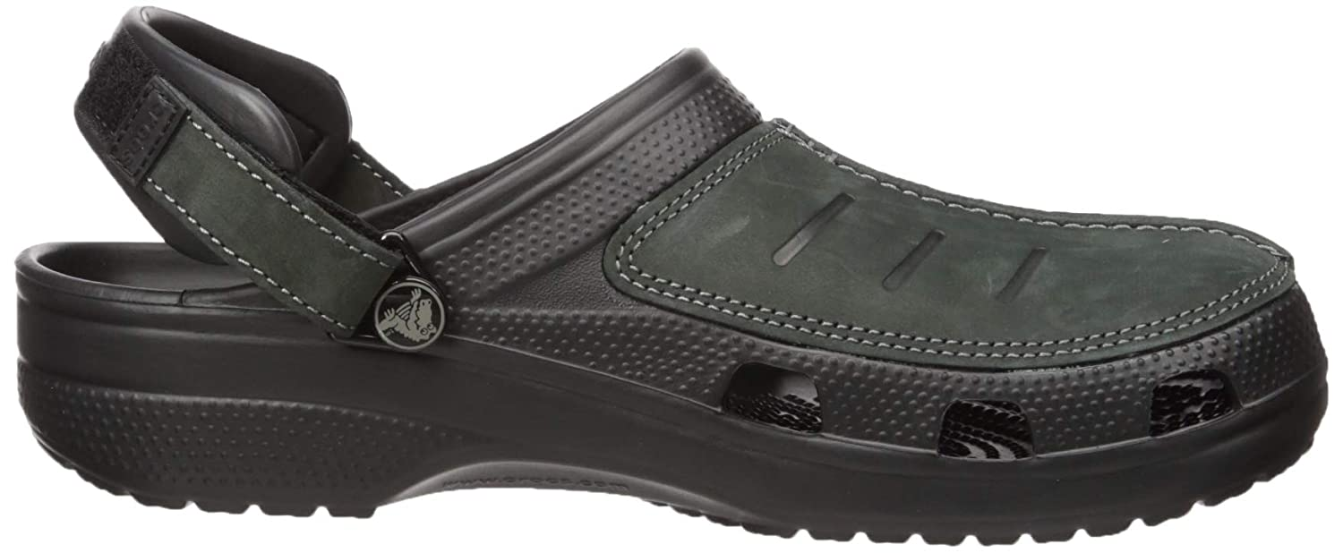 Crocs Mens Yukon Mesa Clog Comfortable Casual Outdoor Shoe with Adjustable Fit