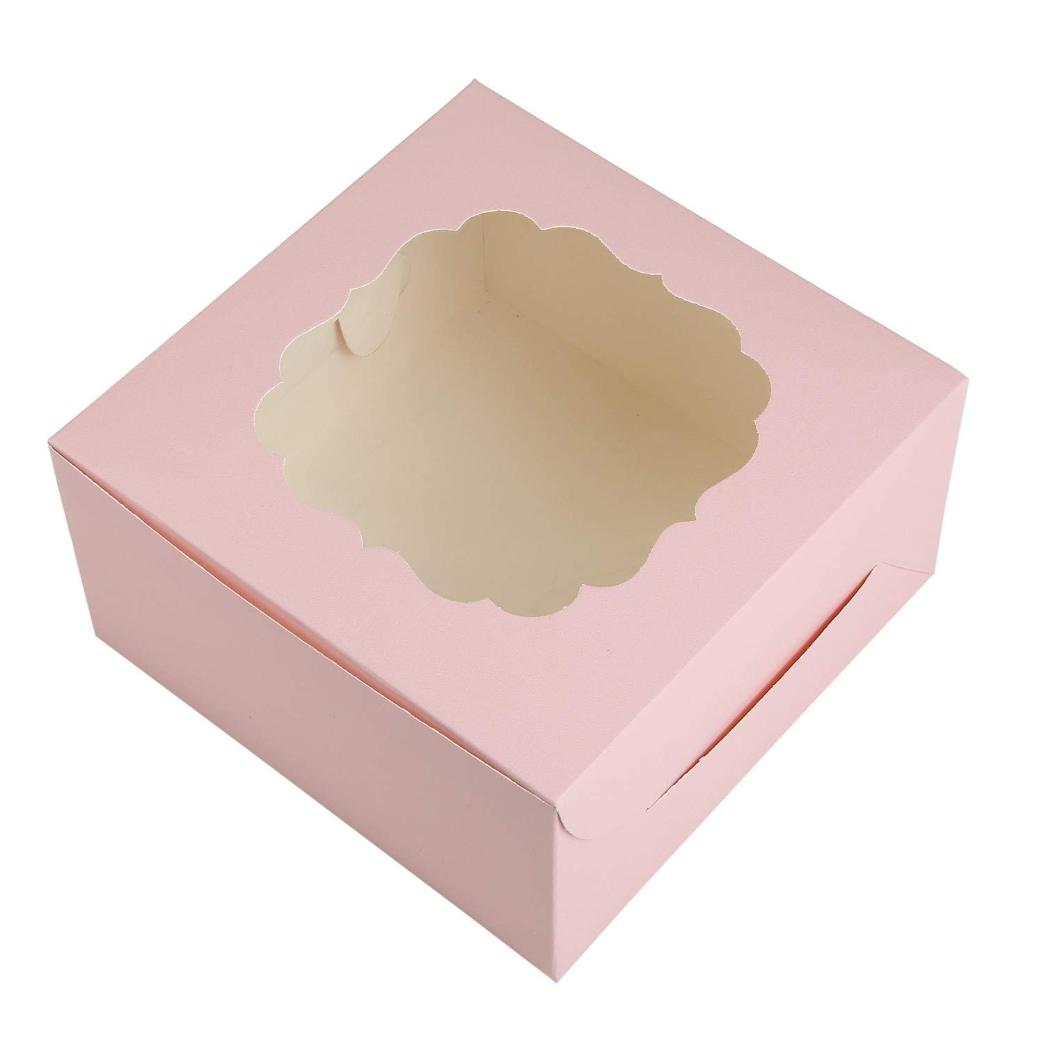 Paper Pep Packaging Collection Pink Top Display 1 Pound Cake Soft Paper Box:  Amazon.in: Home Improvement