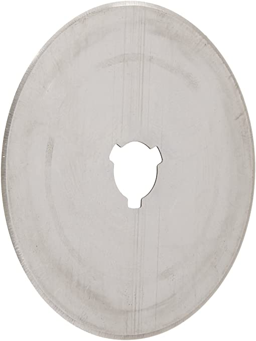 OLFA 60mm Tungsten Tool Steel Rotary Blades,Set of 5 60mm Japan Import