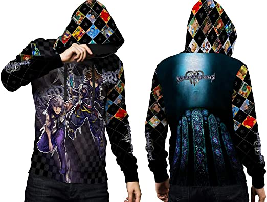 2season5 Kingdom Hearts Fans All Over Print Pullover Hoodie Mens Women Sweatshirts 1