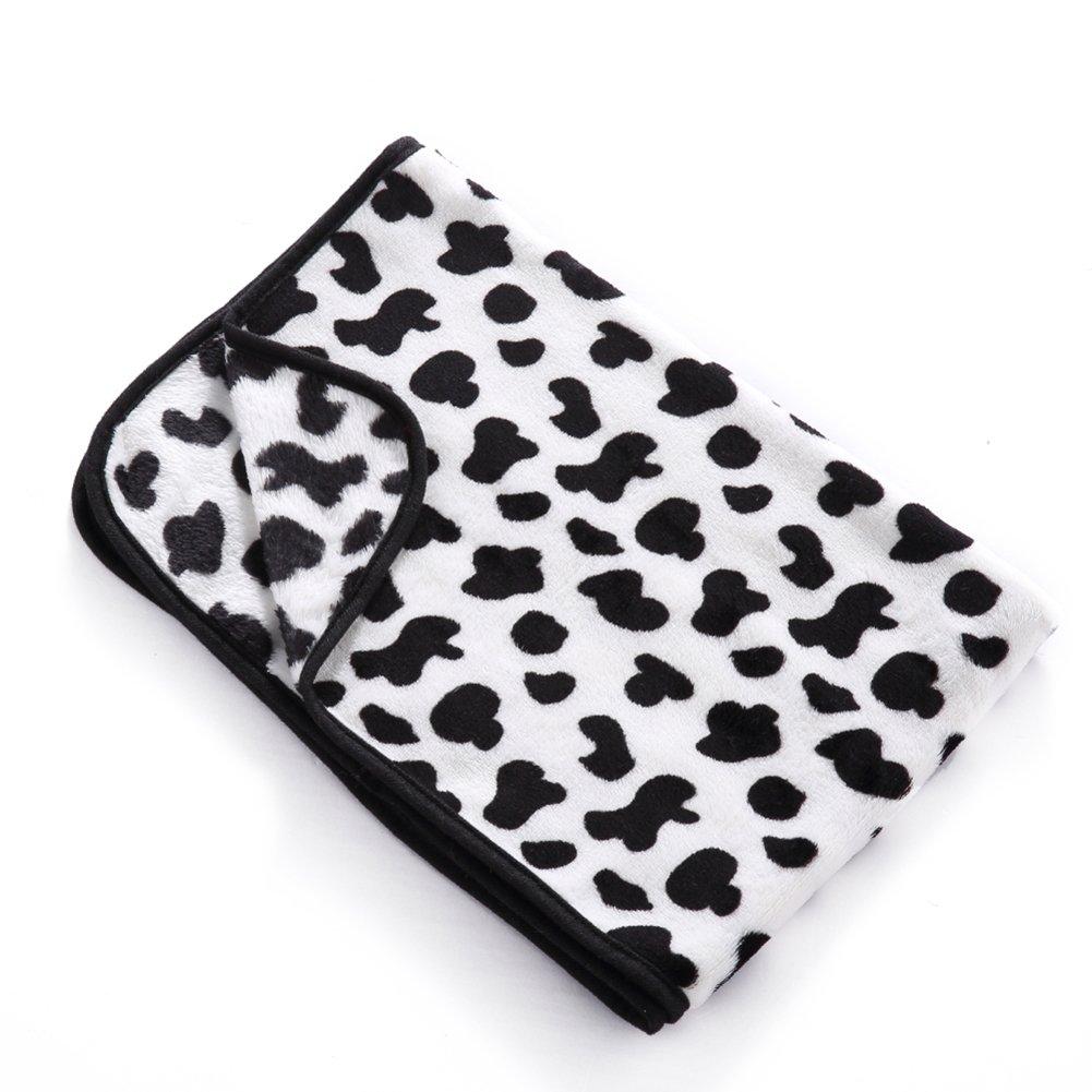 MaruPet Fleece Washable Paw Printed Blanket Doggy Warm Sleeping Mat Dog Cat Puppy Bamboo Cooling Pad Cushion