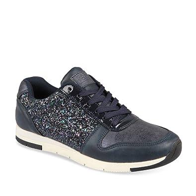 41d29d394e9ca Baskets BLEU UNYK Femme Chaussea  Amazon.fr  Chaussures et Sacs