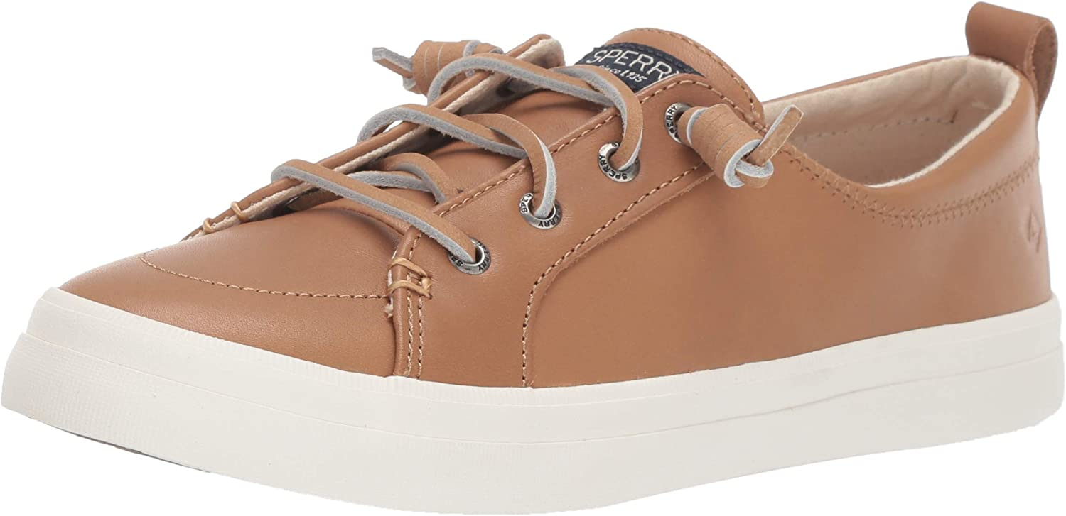 SPERRY Women's Crest Vibe Leather Sneaker