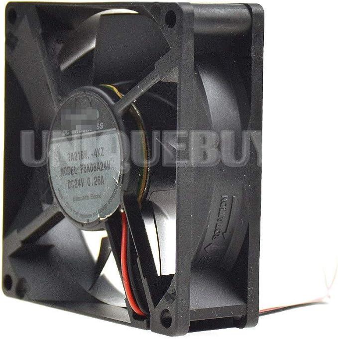 Inverter Cooling Fan 8CM FBA08A24H Cooler for panaflo 24V 0.26A Fluid bearing
