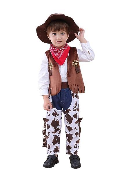 Amazon.com: Disfraz de vaquero para niños de Mays Baby ...