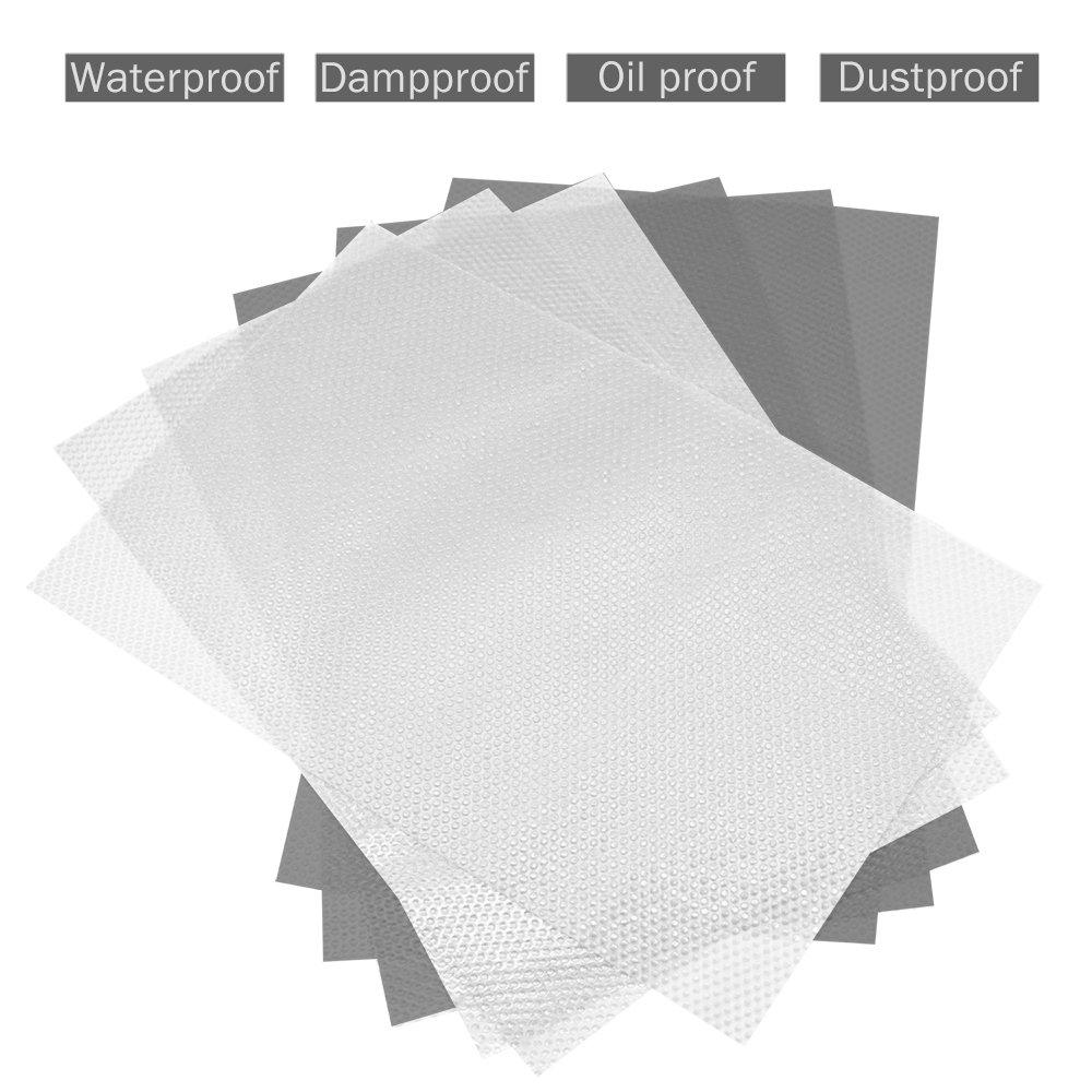 Como Imagen Show 30cm x 150cm Transparente Caj/ón Forro Armario Cocina Tapete Impermeable Armario Protector de Mesa Antideslizante Mantel Multiuso Transparente Cortar para Adaptar