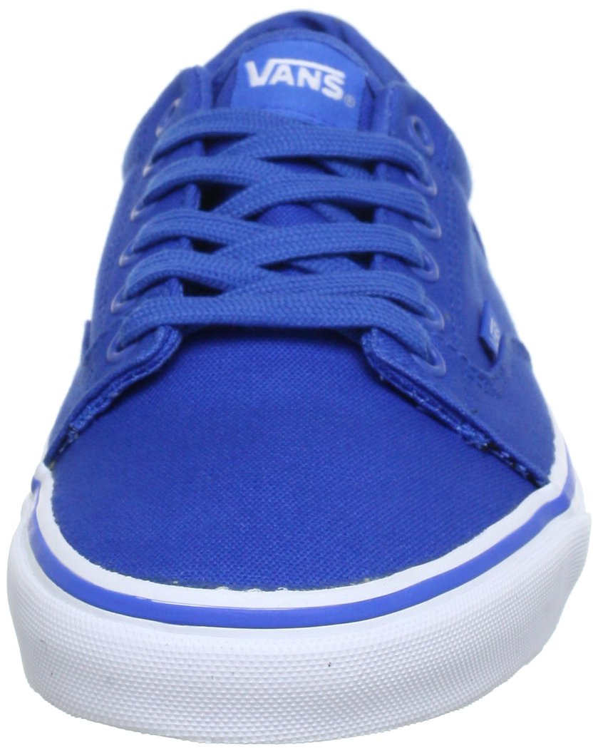 Vans Men's White/Blue Fabric Sl... deals for sale marketable sale online latest collections nwfvy