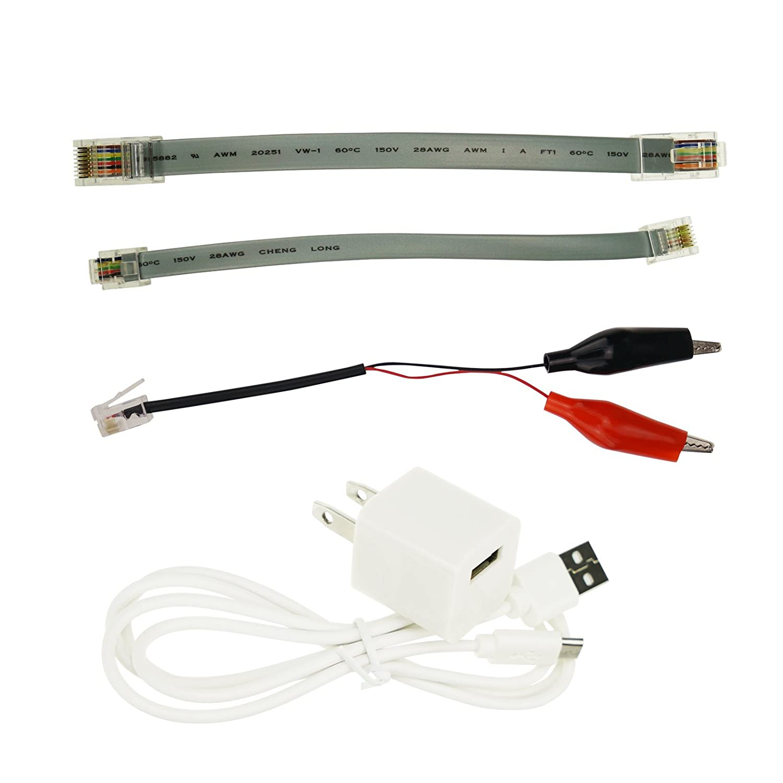 Comprobador portátil de cable de red (RJ45 RJ11 BNC), de Kibeland: Amazon.es: Iluminación