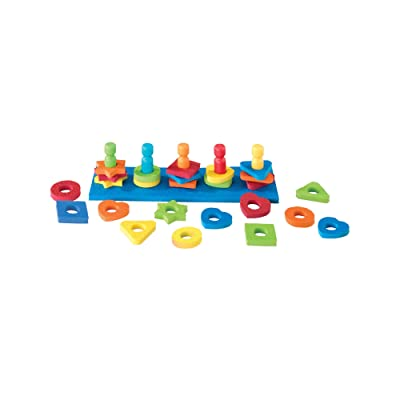 Lauri Shape & Color Sorter: Toys & Games
