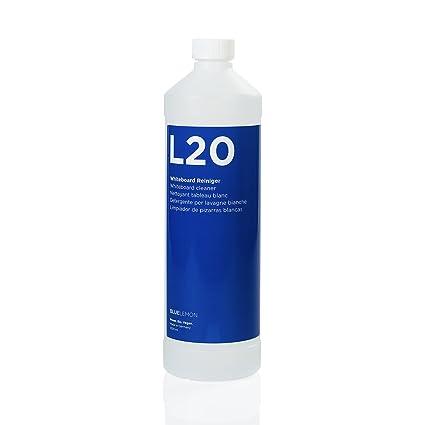 BLUELEMON Professional Limpiador de pizarras Blancas 1000ml L20 Biológico | 90422 | Limpiador Especial para Limpiar pizarras Blancas y Paneles de ...