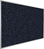 Best-Rite Rubber-Tak Tackboards, Alum Trim, 33 3/4 x 48 Inches, Blue (321AC-97)