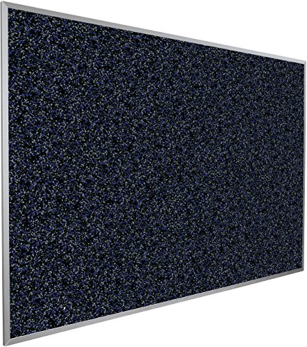 Best-Rite Rubber-Tak Tackboards, Alum Trim, 2 X 3 Feet, Blue (321AB-97)