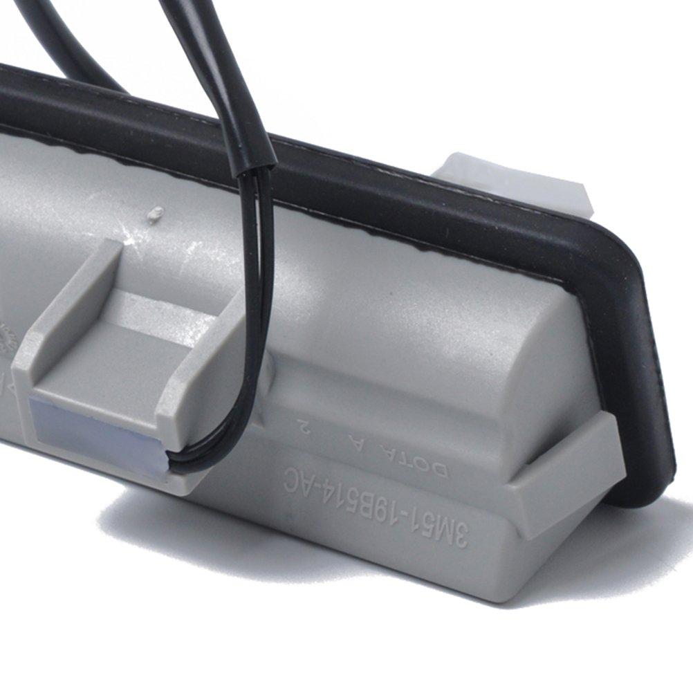 per Ford C-Max Focus Vosarea 3M5119B514-AC 1346324 0,1 A 12 V Interruttore di ricambio per apertura portellone posteriore colore: Nero