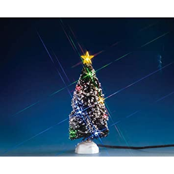 Image Unavailable - Amazon.com: Lemax - EVERGREEN TREE WITH 12 MULTI LIGHT, B/O (4.5V