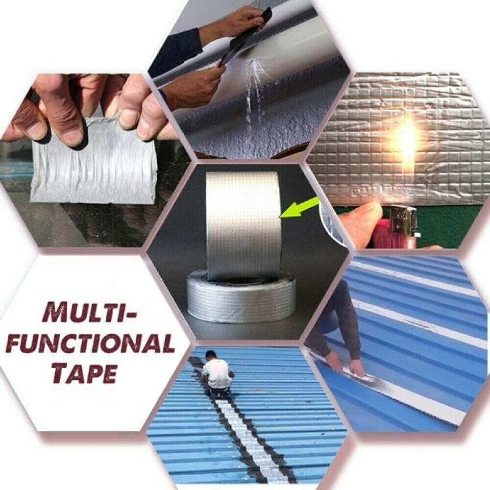 Bande imperm/éable en caoutchouc de papier daluminium de joint butylique de bande imperm/éable superbe forte