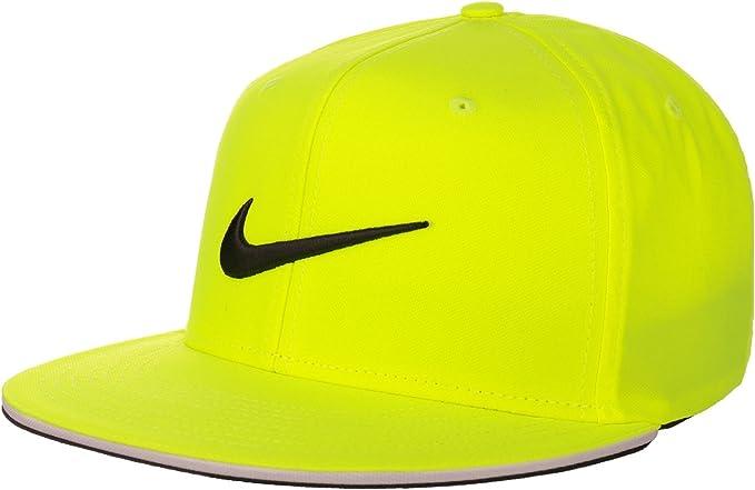 Nike Golf True Statement Gorra, Hombre, Amarillo (Volt/White ...