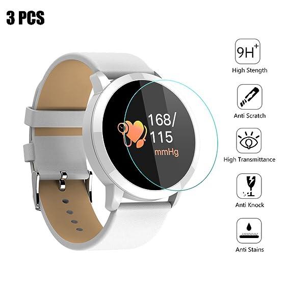 Amazon.com: Smartwatch Screen Protector Film 28mm,Universal ...