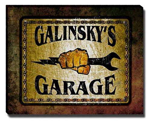Galinsky Print (Galinsky's Garage Stretched Canvas)