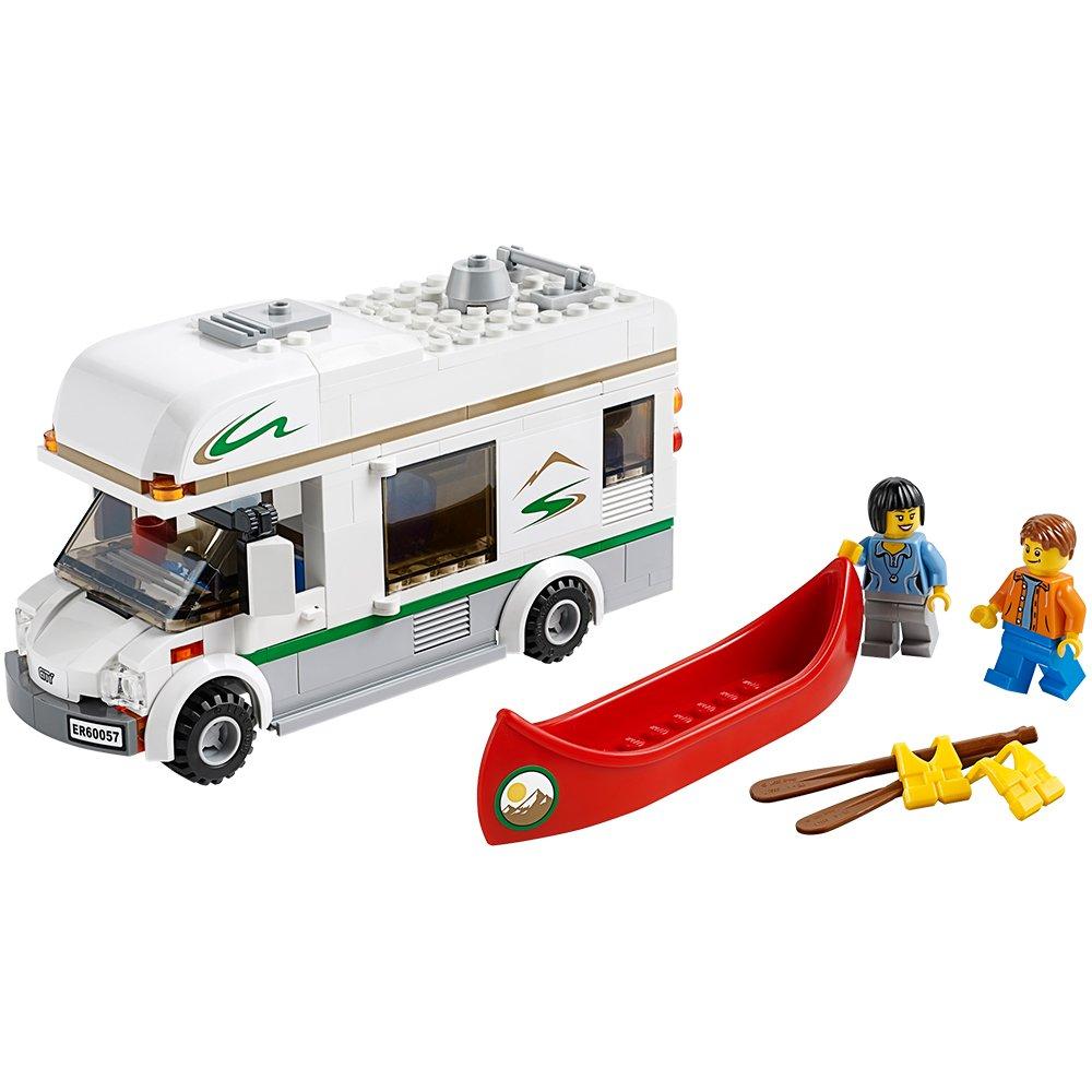 Lego City Great Vehicles 60057 Camper Van Amazon Toys Games