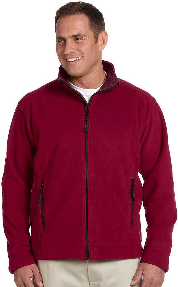 Devon /& Jones Mens Wintercept Fleece Full-zip Vest Red XS