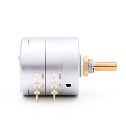 Amazon.com: EIZZ 100K 24 Step HIFI Audio Gold Plated Stepped Serial Attenuator Potentiometer: Home Audio & Theater