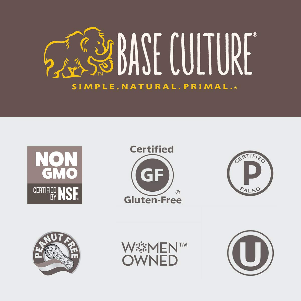 Base Culture Paleo Bread, Large Size   Delicious 100% Paleo, Gluten, Grain, Dairy, and Soy Free- Perfect for Sandwiches (5g Protein Per Loaf, 18 Slices Per Loaf, 1 Count) by Base Culture (Image #5)