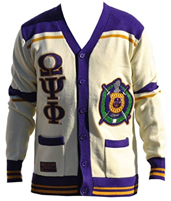 Omega Psi Phi Fraternity Mens Wool Sweater 4xl White At Amazon Mens