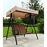Garden Winds Sand Dune 2 Person Swing Replacement Canopy Top Cover