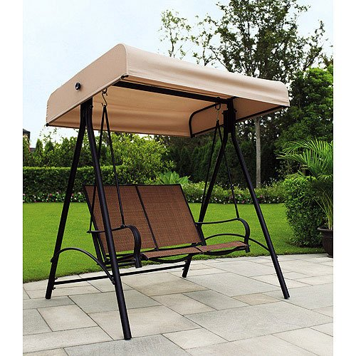 Garden Winds Sand Dune 2 Person Swing Replacement Canopy Top Cover by Garden Winds (Image #3)