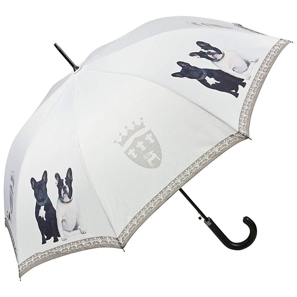 5f14ac755c6b VON LILIENFELD® Ombrello Tema Automatico Donna Cane Bulldog francesi