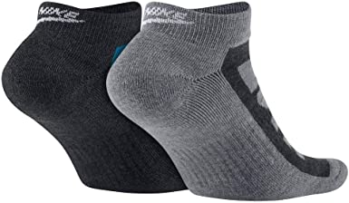 Nike Sportswear Mens No Show Socks 2-Pair Pack