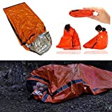 Heavy Duty Emergency Solar Thermal Sleeping Bag Bivvy Sack...