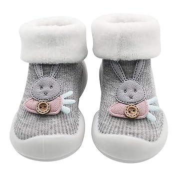 8212b4ed1f415 Amazon.com: Kids Anti-Slip Slipper Floor Socks | Toddler Baby Boys ...