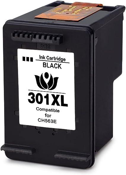ArInk 1 Pack 301XL Cartuchos de Tinta Compatible para HP 301XL, 1 Negro Reemplazar para HP Deskjet 2544 1010 2540 3050: Amazon.es: Electrónica