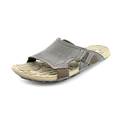 7bef5dd813bb Cushe Evo Slide Canvas Open Toe Slides Sandals Shoes Mens  Amazon.co.uk   Shoes   Bags